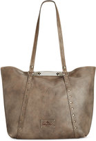 Patricia Nash Washed Denim Benvenuto Tote
