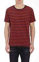 R 13 Men's Striped Jersey T-Shirt