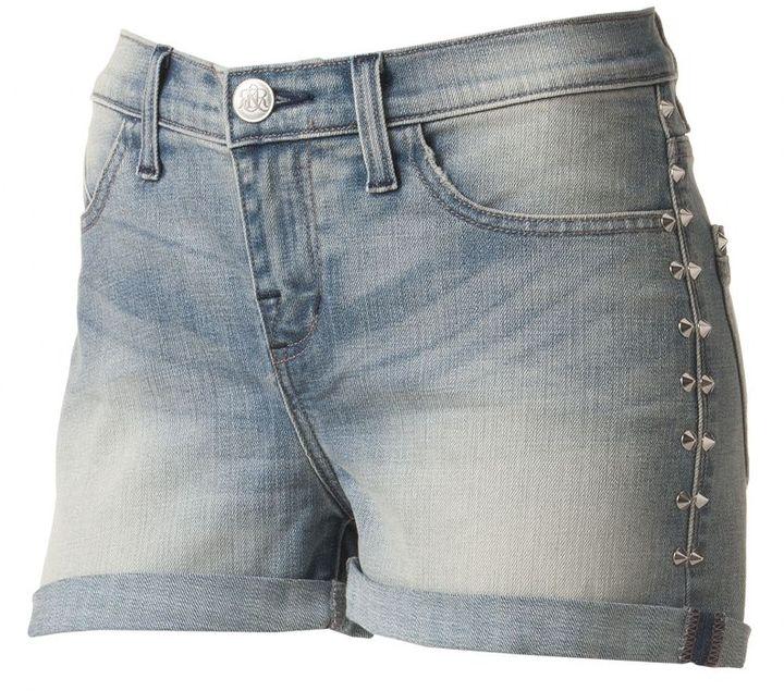 Rock & Republic Rock and republic bombershot embellished denim shorts