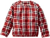 Osh Kosh Plaid Woven Top (Toddler/Kid) - Red/White/Blue-6