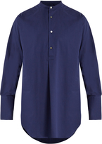 Stella McCartney Mandarin-collar cotton shirt