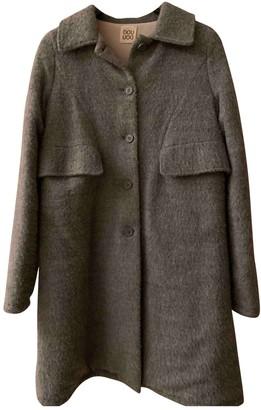 Douuod Grey Wool Jackets & Coats