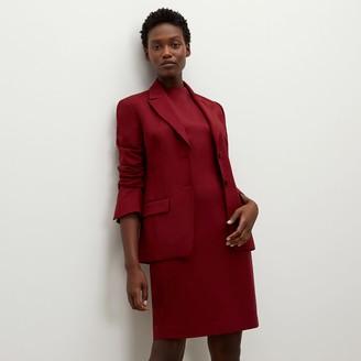 M.M. LaFleur The Farnoosh DressWashable Wool Twill
