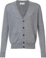 MAISON KITSUNÉ V-neck cardigan - men - Wool - M