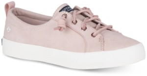 Sperry Women's Crest Vibe Memory-Foam Lace-Up Fashion Sneakers, Created for Macy's Women's Shoes
