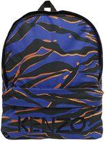 Kenzo Printed Nylon Canvas Backpack