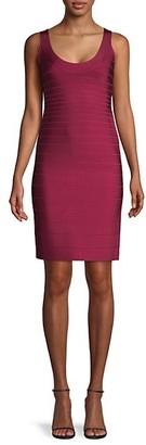 Herve Leger Signature Essentials Bodyon Bandage Dress
