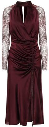 Jonathan Simkhai Stretch-silk satin dress