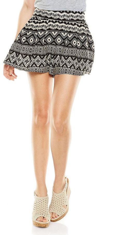 Mudd smocked soft shorts - juniors