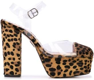 Ritch Erani NYFC Audrey leopard print pumps