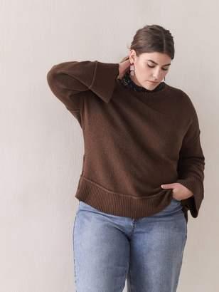 Square Crew-Neck Sweater - Addition Elle