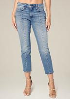 Bebe Center Seam Crop Jeans