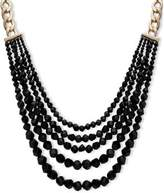 Anne Klein Crystal Beaded Multi-Strand Necklace