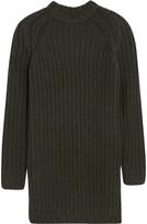 Nlst Fisherman chunky-knit sweater dress