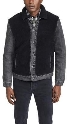 Levi's Sherpa Panel Trucker Jacket