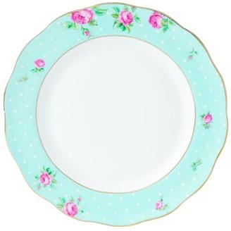 Royal Albert Polka Blue Vintage Plate (27Cm)