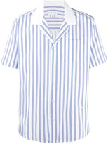 Soulland striped short sleeve shirt - men - Cotton - S