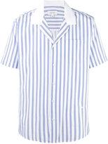 Soulland striped short sleeve shirt