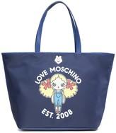 Love Moschino Graphic Print Tote Bag