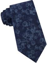 Calvin Klein Floral Silk-Blend Tie