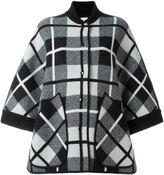 M Missoni checked oversized coat