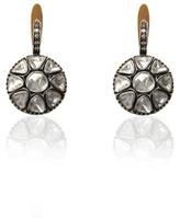 Large Diamond Drop Earrings