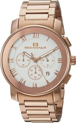 Oceanaut Men's Riviera Stainless Steel Analog-Quartz Watch with Stainless-Steel Strap