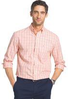 Izod Men's Classic-Fit Windowpane Button-Down Shirt