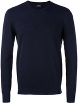 Armani Jeans branded top - men - Polyamide/Viscose - M