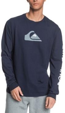 Quiksilver Men's Comp Logo Long Sleeve Tee