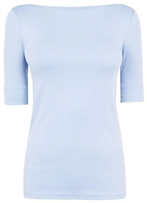 Lauren Ralph Lauren Judy Elbow Sleeve T Shirt