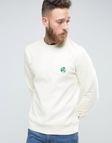 Paul Smith PS by Sweatshirt With PS Logo In Regular Fit Ecru