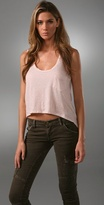 Lna Cropped Back Tail Tank