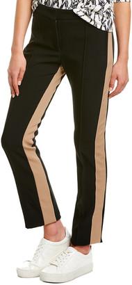 Derek Lam Tuxedo Stripe Wool-Blend Trouser