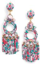 Lele Sadoughi Samba Beaded Drop Earrings