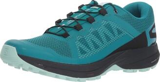 Salomon Women's Xa Elevate Trail Running Shoes Green Size: 5 UK