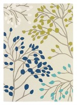 Sanderson Rugs Pippin Teal Linden Small