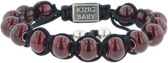 King Baby Studio Ceramic Macrame Bracelet