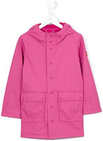 Save The Duck Kids - hooded raincoat - kids - Polyester/Polyurethane - 4 yrs