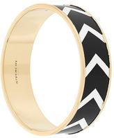Givenchy chevron pattern bracelet