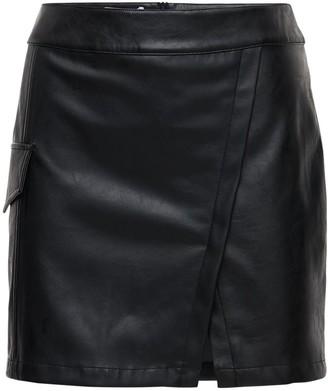 Designers Remix Marie Faux Leather Mini Skirt