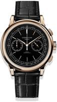 Corniche Watches Mens Chronograph Rose Gold