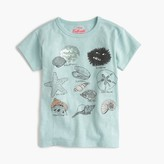 J.Crew Girls' Max the Monster shell collecting T-shirt