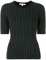 Jonathan Simkhai Short Sleeved Knitted Top