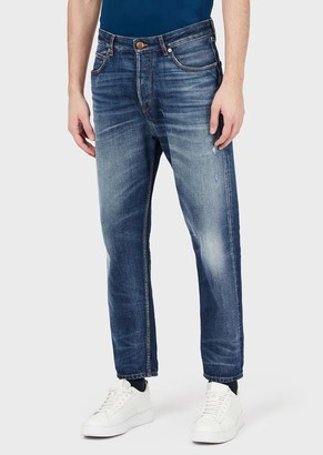 Emporio Armani Tapered Fit J77 Denim Jeans