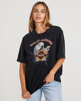 Thumbnail for your product : Harley-Davidson Ss Vj Eagle Tee