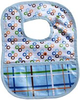 Caden Lane Reversible Coated Bib - Cotton Blend - Star Dot