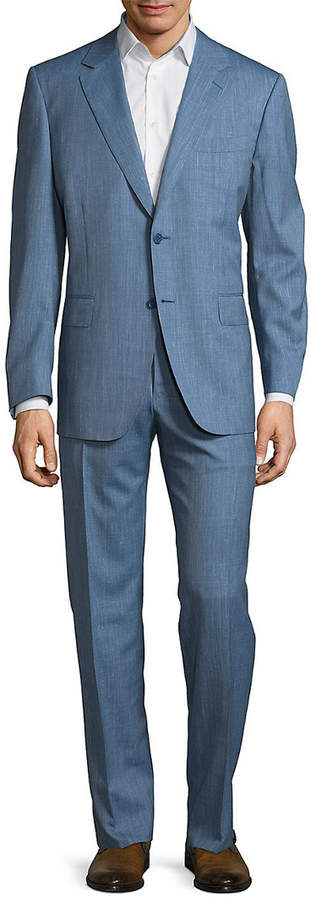 Canali Two-Piece Textured Suit