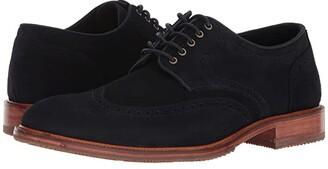Trask Logan (Teak Calfskin) Men's Lace Up Cap Toe Shoes