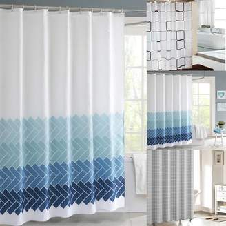 +Hotel by K-bros&Co Kadell 71'' X 71'' Mildew Resistant Waterproof Shower Curtains for Bathroom Home Hotel